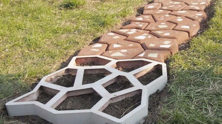 бетонные дорожки