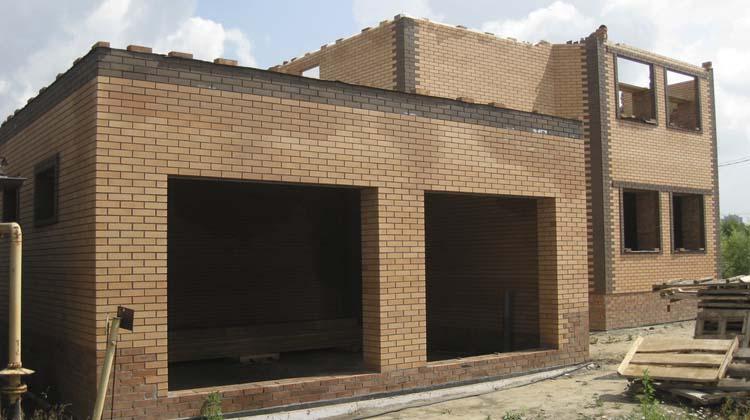 Дома из кирпича и блоков