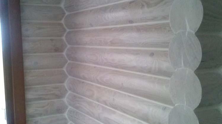 Герметизация деревянных домов