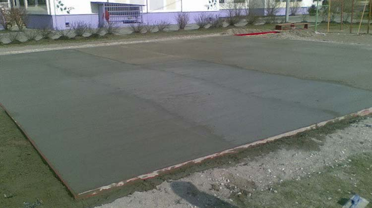 Площадки под автомобиль